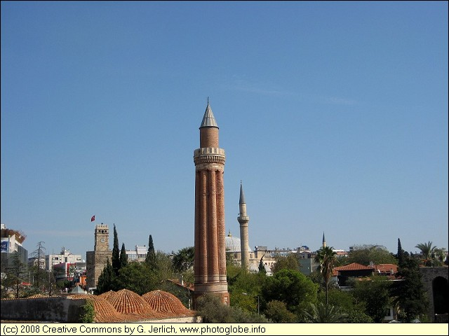 Mosques Antalya Turkey Antalya Yivli Minare Mosque
